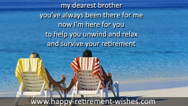 Happy retiring wishes for brother and step brothers from sister religious retirement verses brother retirement sayings m4hsunfo