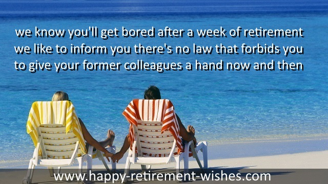 Best retirement sayings and funny happy retiring quotes for boss