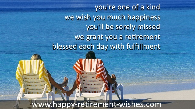 best religious retirement verses