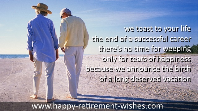 inspiring retirement messages