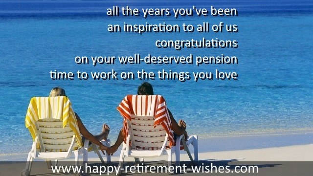 Inspiring retirement quotes and inspirational retirement wishes