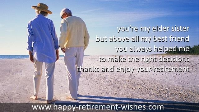 Retirement Prayers For Sister