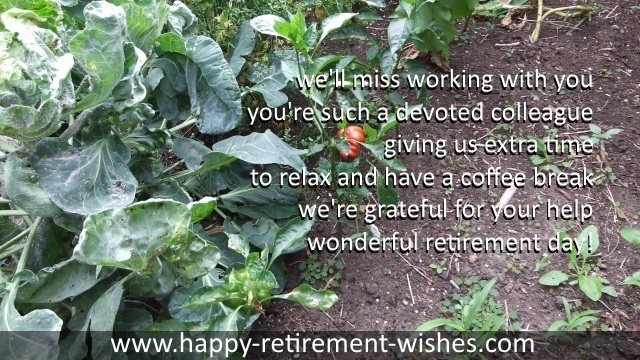 Thanks Religious Retirement Verses Letter Of