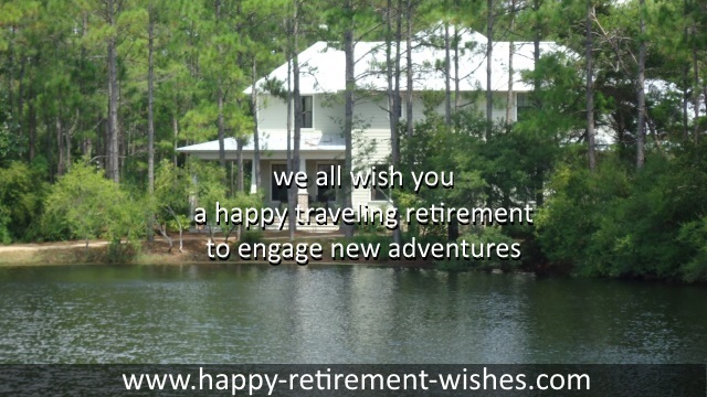 retiring SMS text sayings